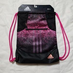 Adidas Alliance ll Sack Magenta Black Gym Bag